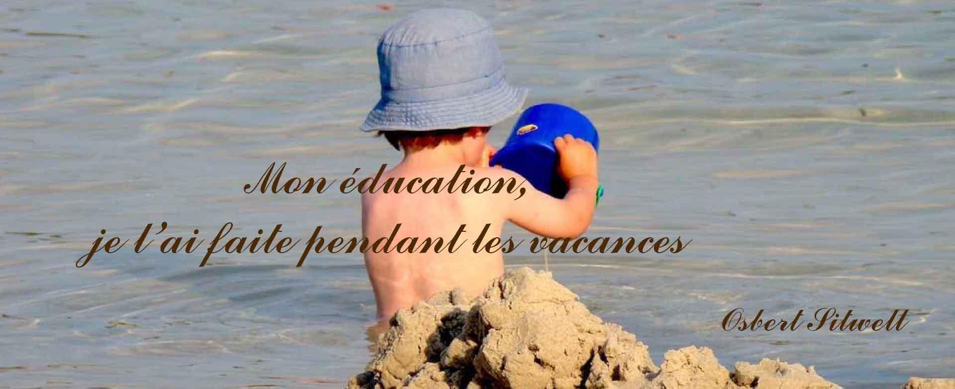 8 juillet: Bonnes Vacances d'été